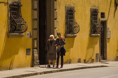 Two Ladies Walking, Florence