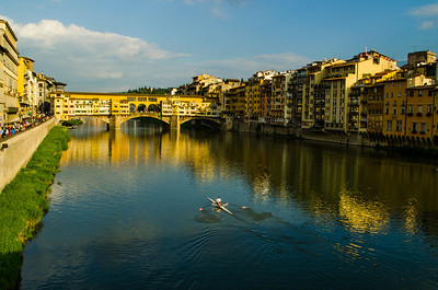 Rowing by the Pointe Vecchio