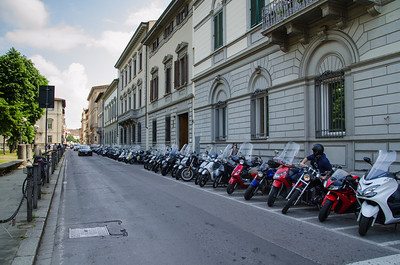 Street Scene, Florence