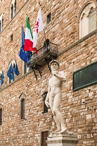 David in the Palazzo, Florence
