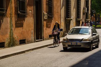 Girl on Bicycle, Florence