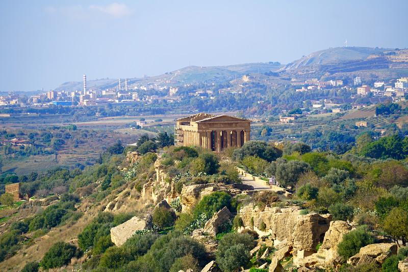 Agrigento (temple of Concordia)