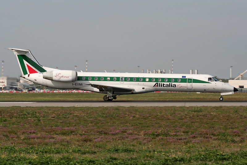 "I-EXMI Embraer ERJ-145LR ""Alitalia Express"" c/n 145286 Milan-Malpensa/LIMC/MXP 24-09-06"