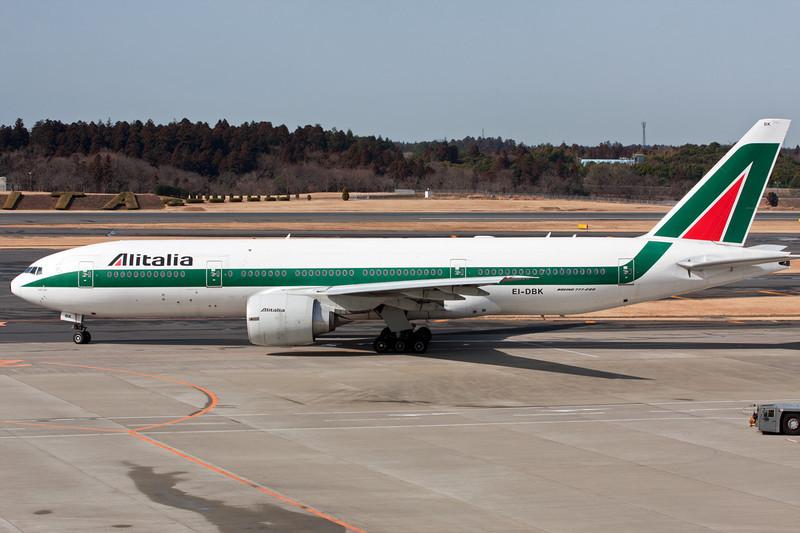 EI-DBK Boeing 777-243ER c/n 32783 Tokyo-Narita/RJTT/NRT 25-02-11
