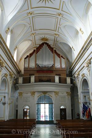 Positano - church of Santa Maria Assunta - Organ 1