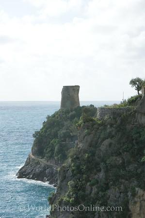 Amalfi Coast - Marina di Praia - Tower