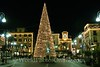 Sorrento - Town Square at Christmas at night