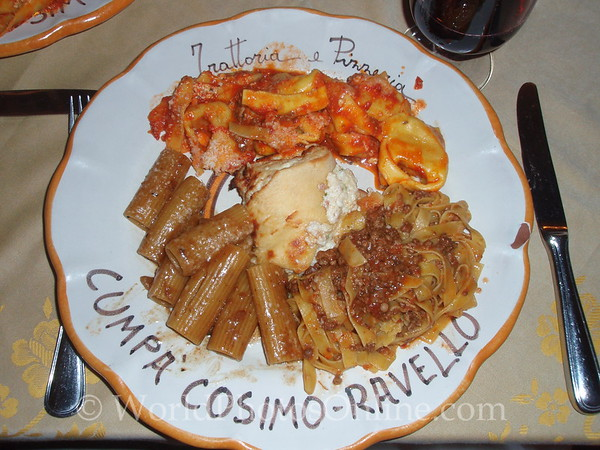 Ravello - Trattoria Cumpa Cosimo - House Special