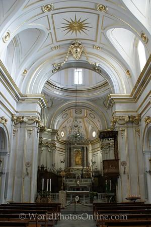 Positano - church of Santa Maria Assunta - Nave