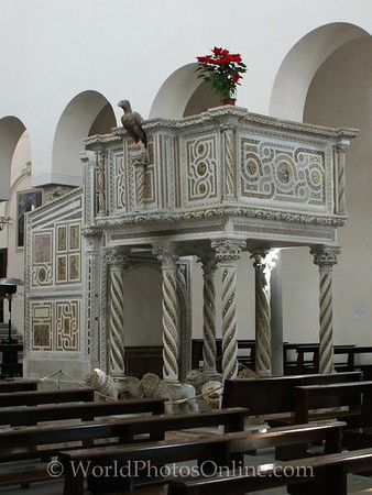 Ravello - Cathedral (Domo) - Pulpit of the Gospels