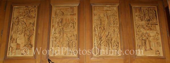 Sorrento - Cathedral - Wood Mosaic 1