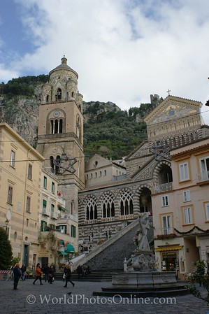 Amalfi - Saint Andrew's Cathedral & Piazza