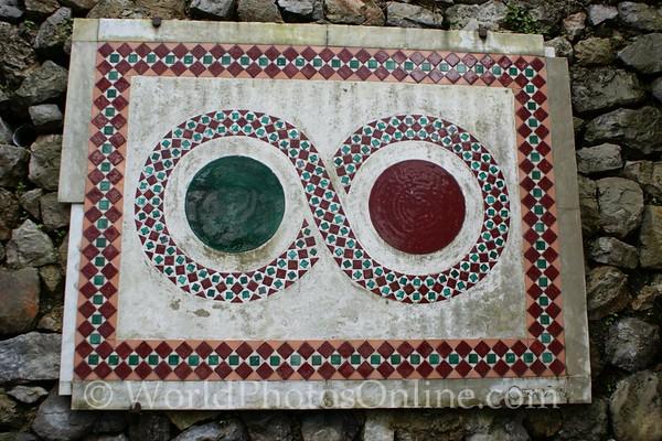 Ravello - Mosaic on wall