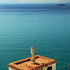 Italy, Amalfi Coast, Neptune Statue