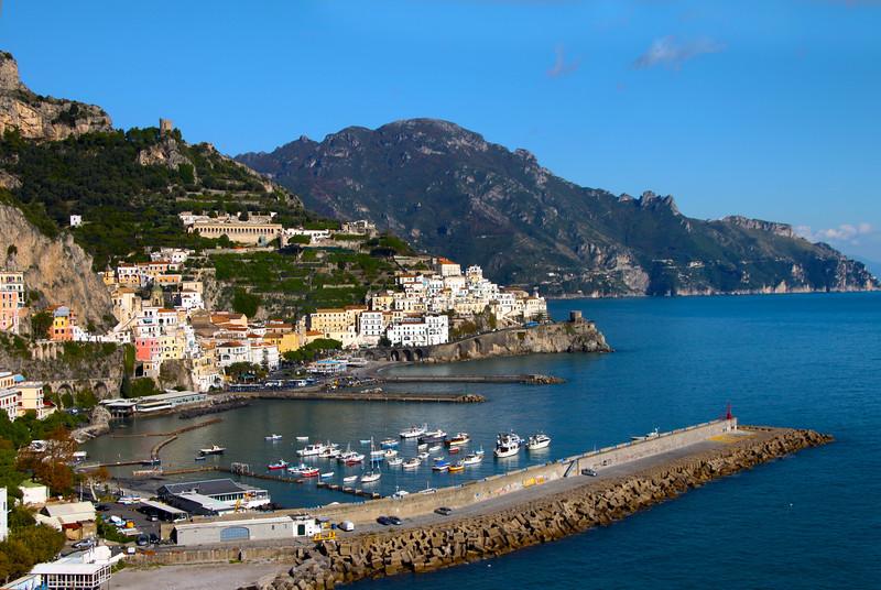 Italy, Amalfi Coast, Town of Amalfi