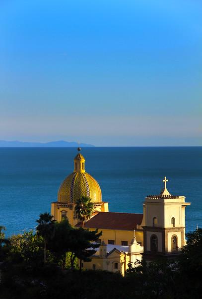Italy, Amalfi Coast, Duomo Positano