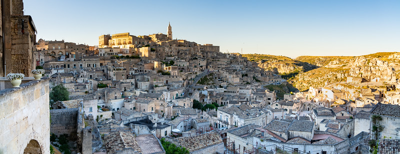 Panorama of Matera, Basilicata