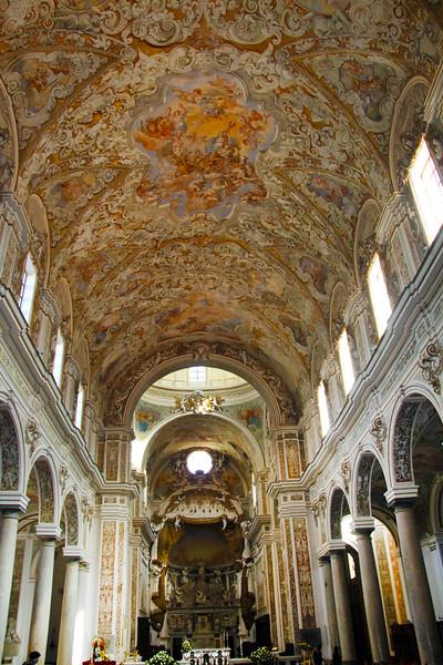 Sicilily, Mazara del Vallo, Santissimo Salvatore Cathedral Interior