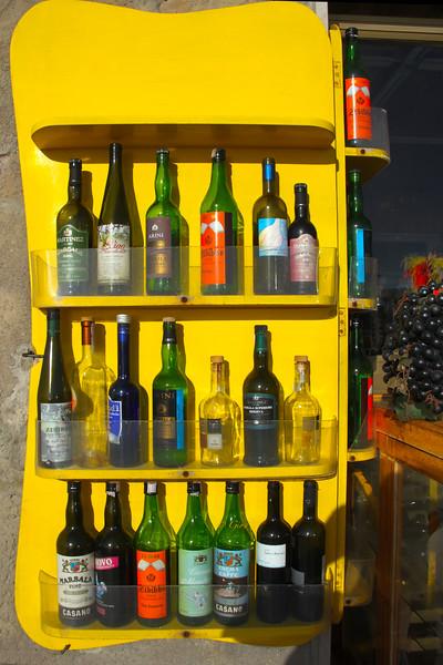 Sicily, Wine Display, Marsala
