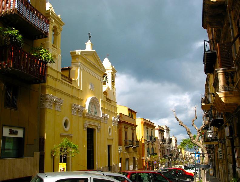 Sicily, Castellamare del Golfo, Street View