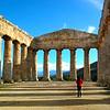 Sicily, Castellamare del Golfo, View Over City