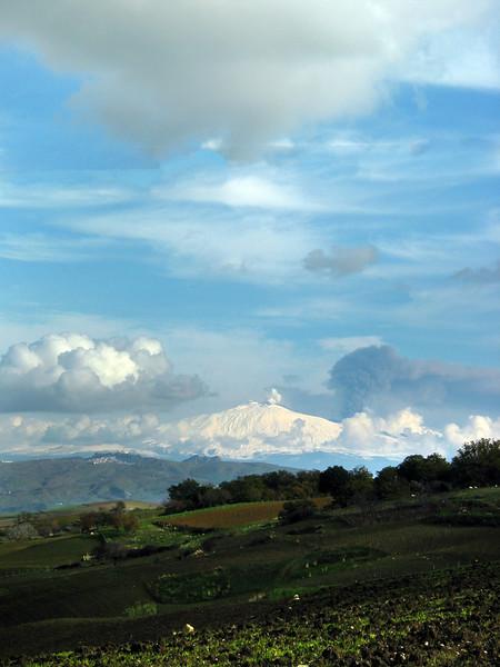 Sicily, Mt. Etna, Winter
