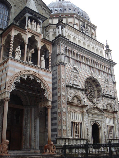 Basilica Of Santa Maria Maggiore, Bergamo - Italy