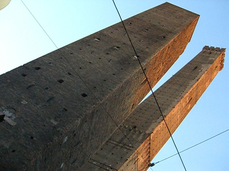 Asinelli and Garisenda Towers - Bologna, Italy
