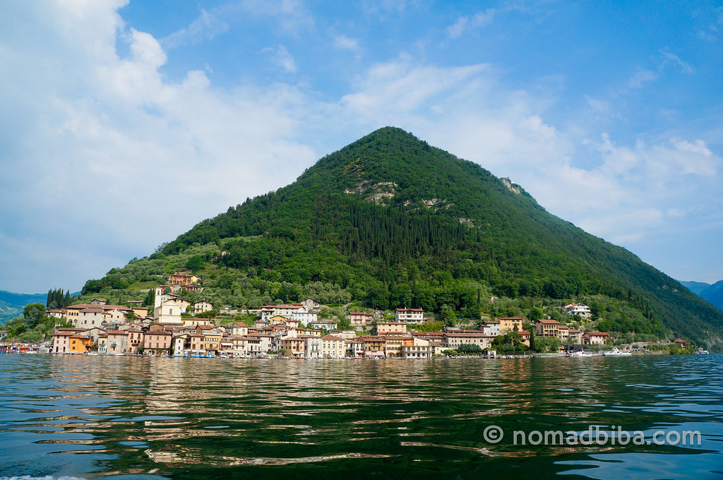 Monte Isola in Lake Iseo, Brescia (Italy)