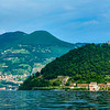 Nice view point in Lake Iseo, Italy