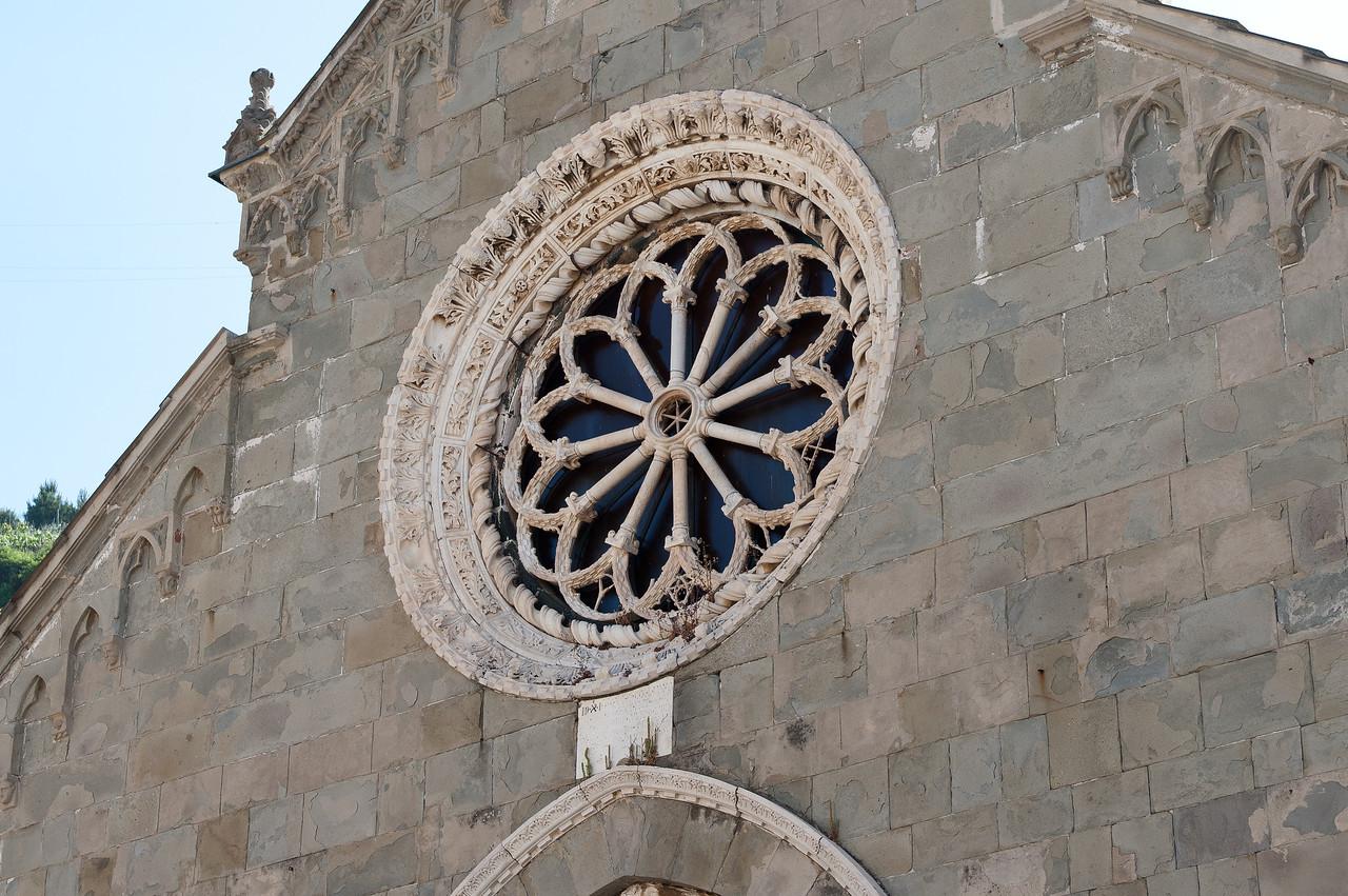 Corniglia's Saint Peter's Church in Cinque Terre, Italy