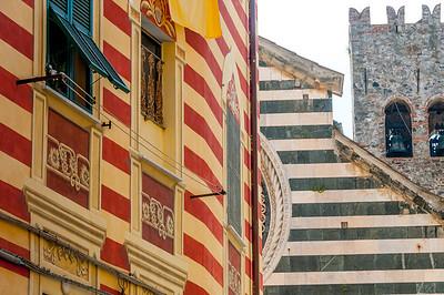 Colorful buildings in Cinque Terre, Italy