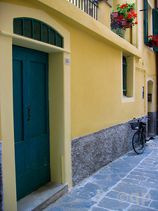 BLUE DOOR AND BICICLETTA