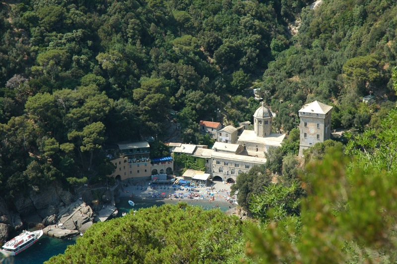 Abbey of San Fruttuoso - Liguria, Italy
