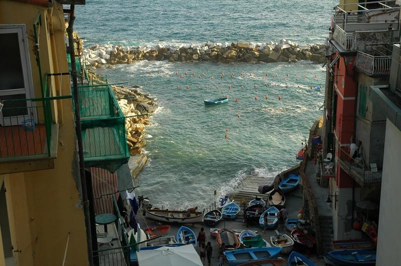 Riomaggiore's Harbor - Liguria, Italy