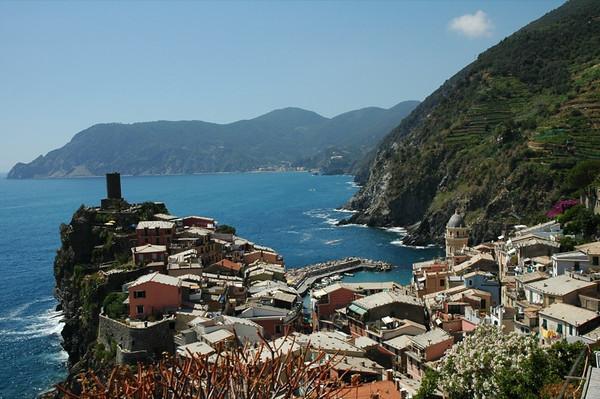 Vernazza along Cinque Terre - Italy
