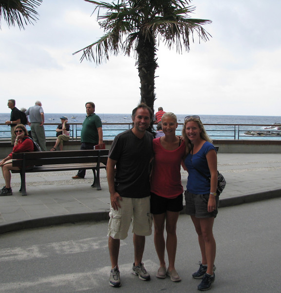 We randomly ran into Jenna Karpoff in Cinque Terre.  Jenna and her husband, Adam were on their honeymoon.