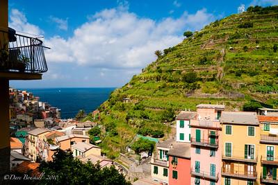 Cinque Terre Villages in Italy