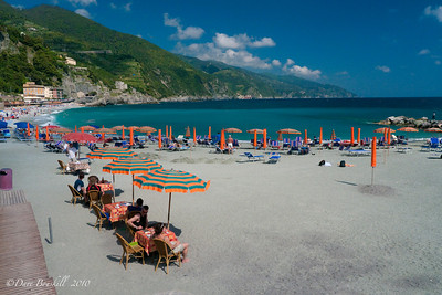 Monterosso al Mare is the finishing point of the Cinque Terre Villages in Italy