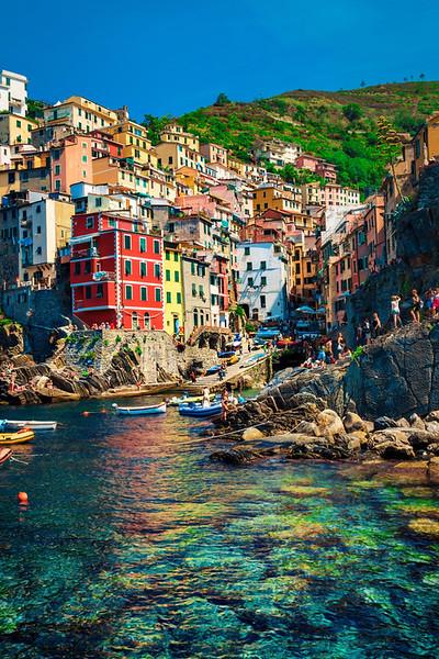 Riomaggiore in Cinque Terre