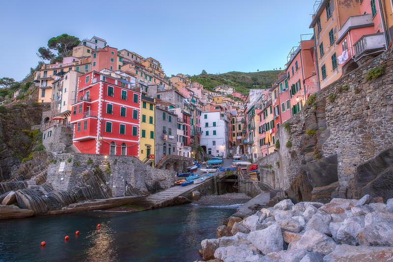 Mornings at Riomaggiore