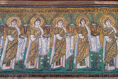 Mosaics at the Basilica of Sant'Apollinare Nuovo