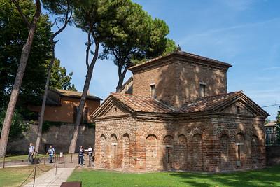 Mausoleum of Galla Placidia in Ravenna