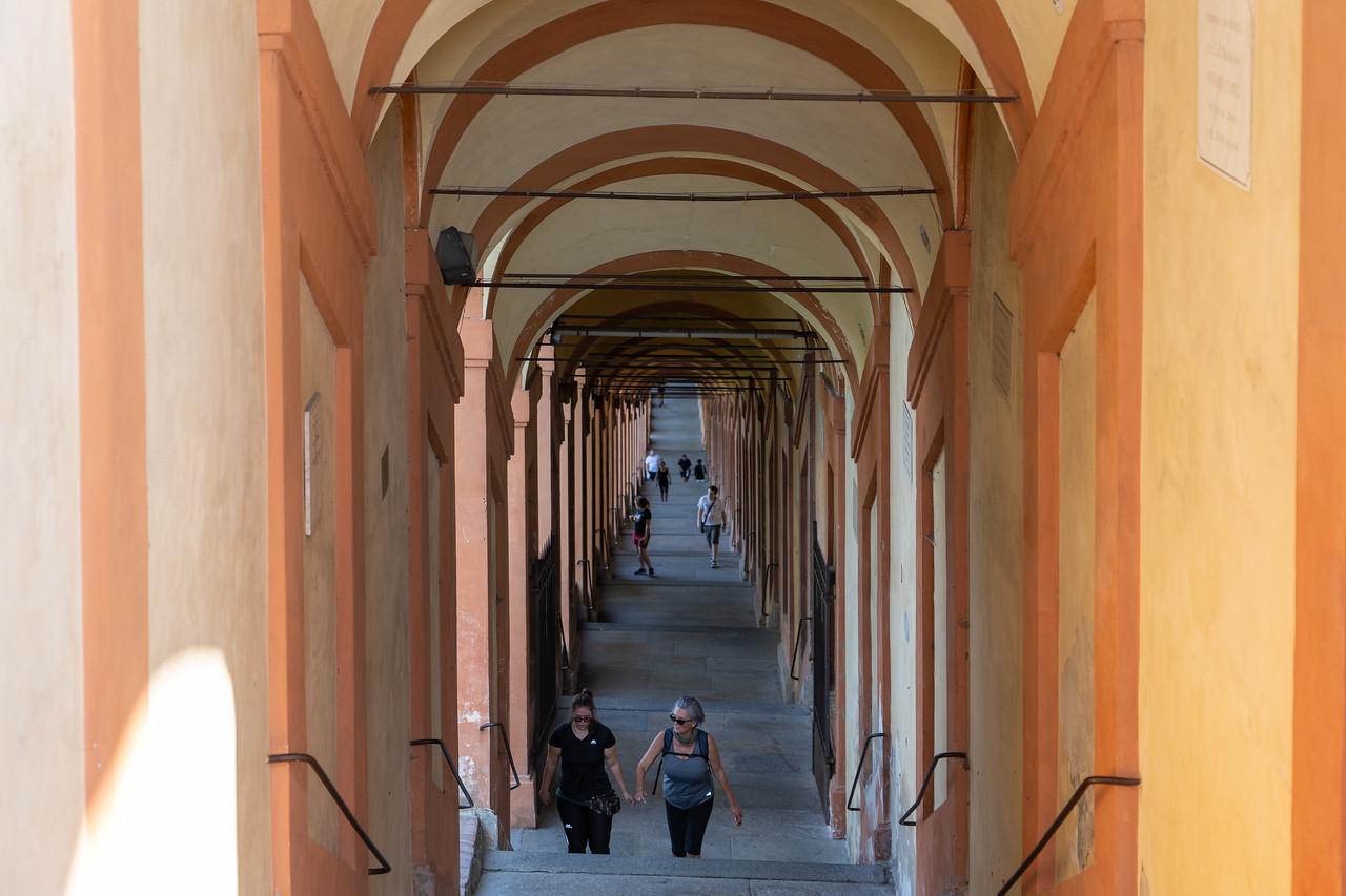 Sanctuary of San Luca porticos