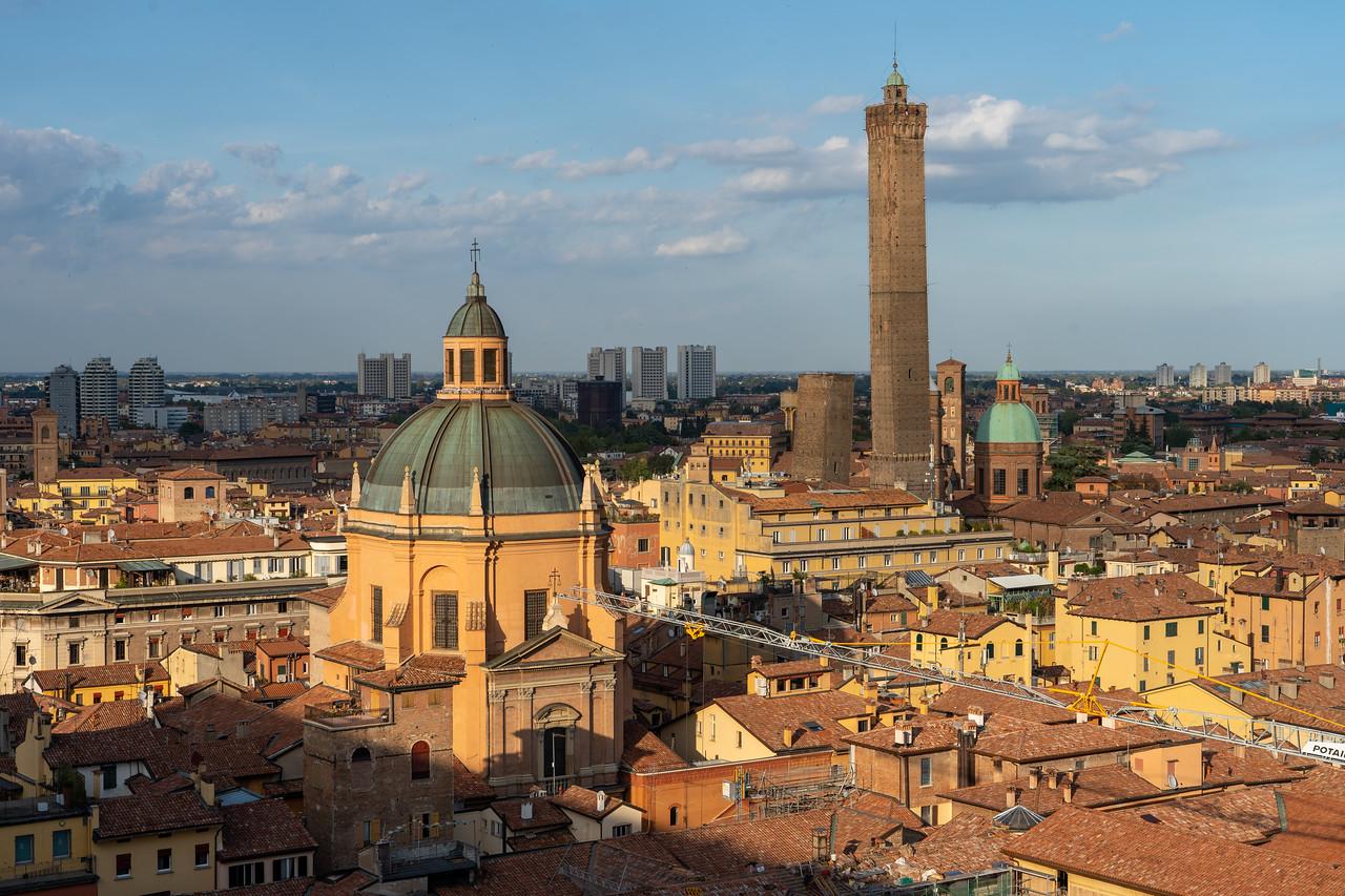 View from Basilica di San Petronio Terrazza