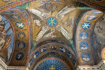 Mosaics in the Archiepiscopal Chapel in Ravenna