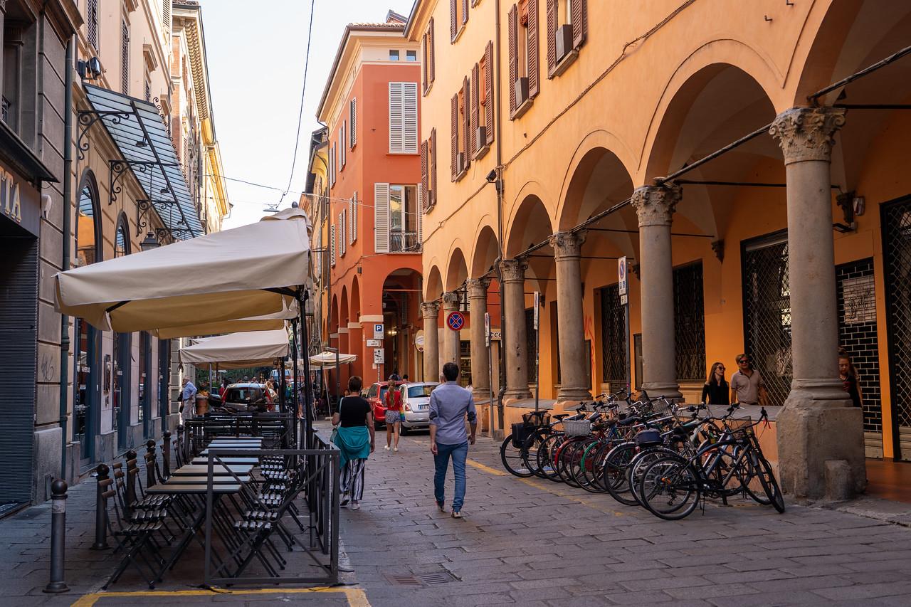 Bologna street scene