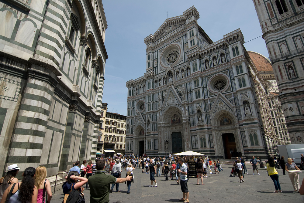 Florence Cathedral Plaza
