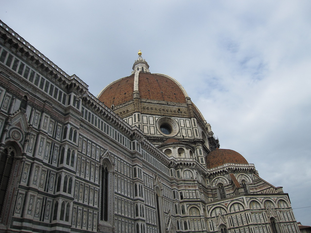 The Dome of Florence Cathedral in Florence, Italy
