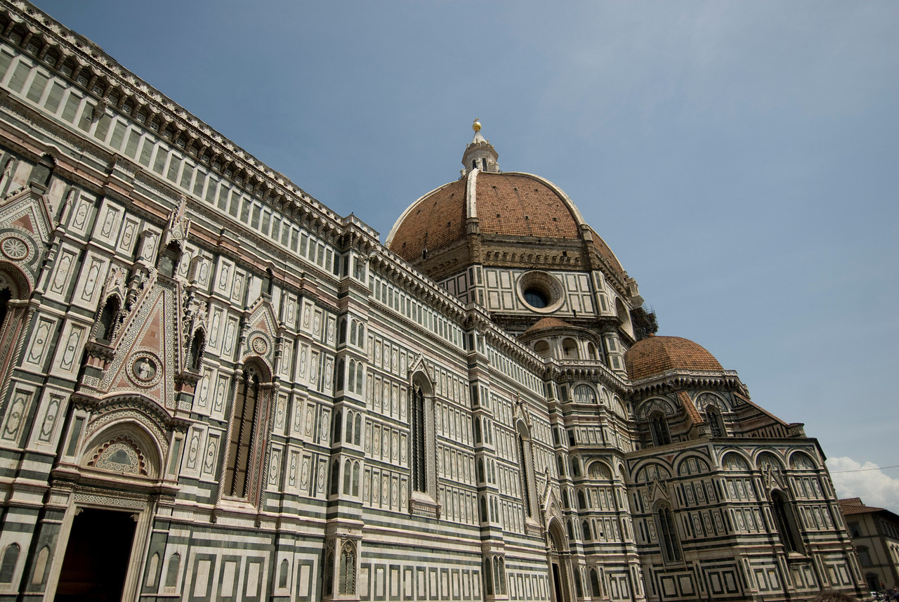 The Florence Cathedral and Dome in Florence, Italy